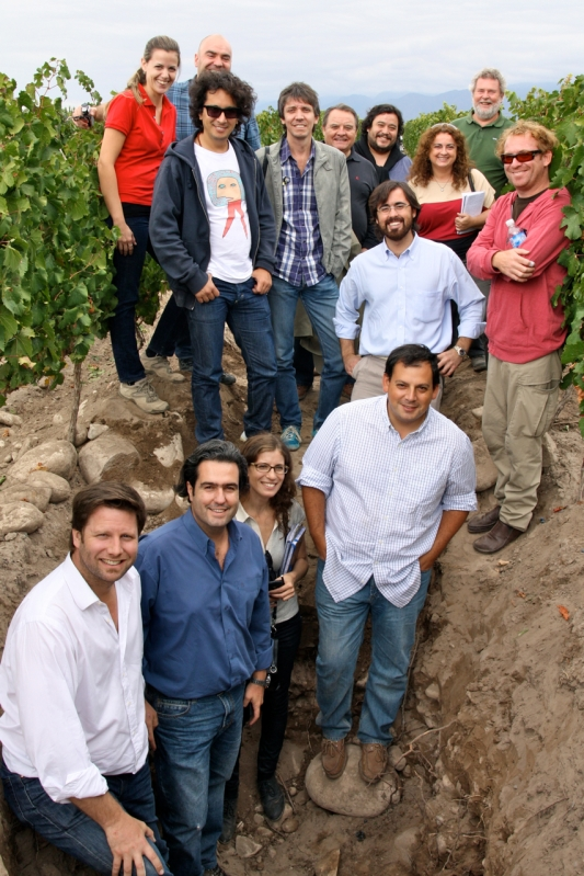 Full Day Terroir With Pedro Parra, Altos Las Hormigas Harvest 2012