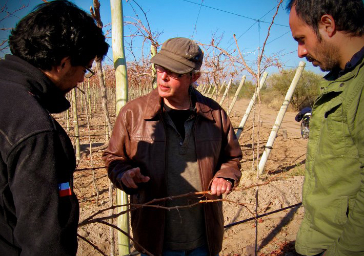 Alan York Works with Mauricio Gonzalez, Leo Erazo, Biodynamic Vineyard Malbec, Altos Las Hormigas