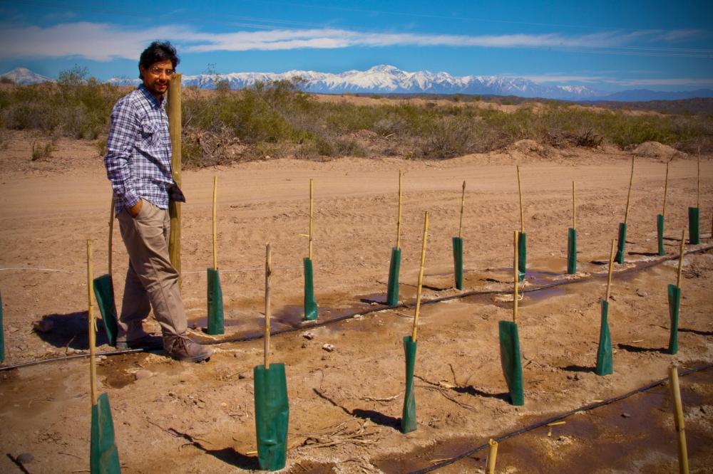 Mauricio Gonzalez, Agronomist, Biodynamic Malbec Vineyard, Mendoza, Argentina, Altos Las Hormigas, Terroir